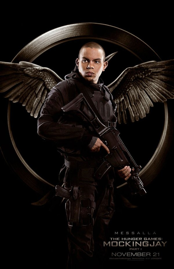 The Hunger Games Mockingjay Part 1 Messalla Poster
