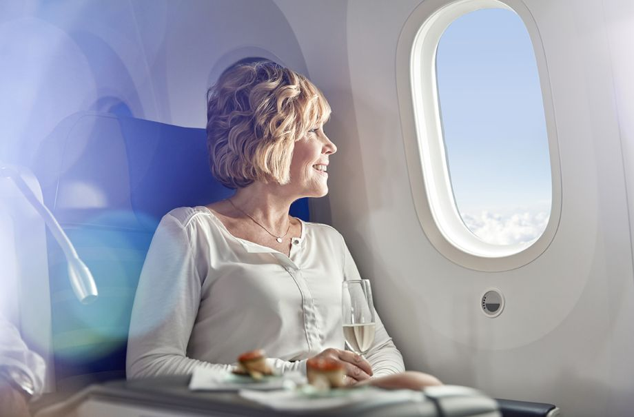 avoid puffiness long haul flight