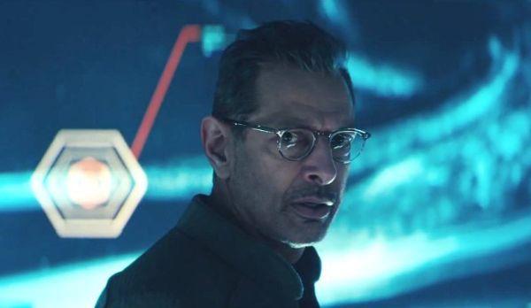 Jeff Goldblum in Independence Day; Resurgence