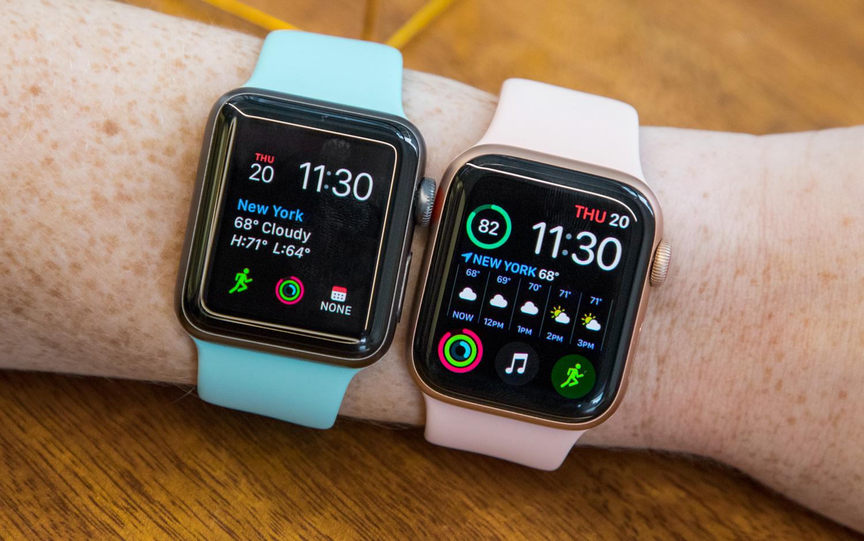 Apple Watch Series 4 vs Series 2