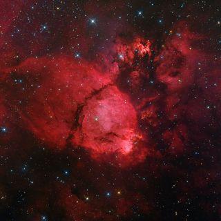 NGC 896 Emission Nebula
