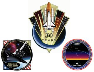 NASA Reveals Winning Patch in End-of-Shuttle Contest