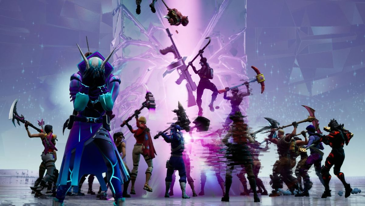 Fortnite S Tilted Towers And Retail Row Destroyed Drum
