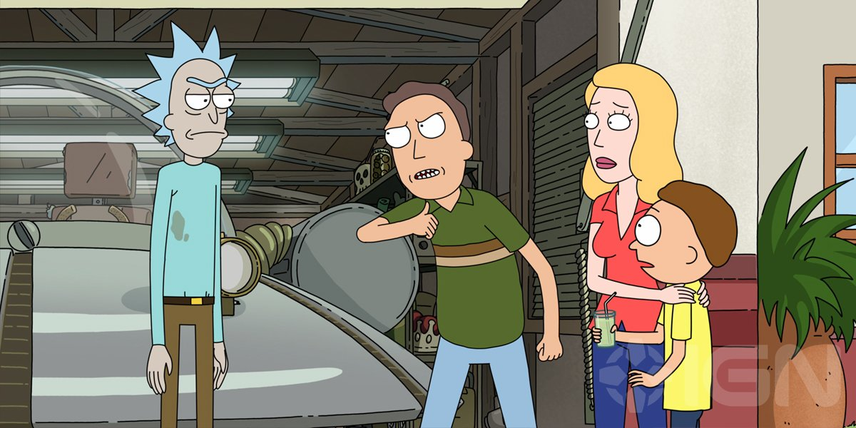 Rick and Morty The Smith Family