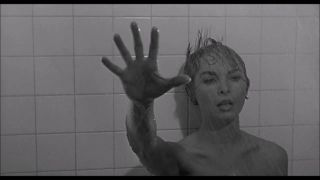 Janet Leigh in Psycho shower scene