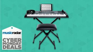 The beginner-friendly Alesis Melody 61 MkII keyboard at less than $120 is a Cyber Monday steal