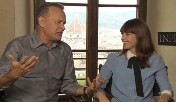 Not Even Tom Hanks Can Get Rogue One Secrets Out Of Felicity Jones