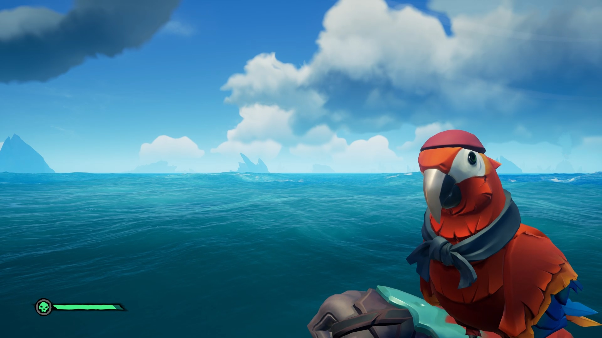 You can make your Sea of Thieves pets throw up   PC Gamer