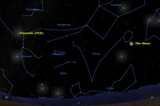 A particularly large bright Moon will interfere with viewing the Perseid meteor shower