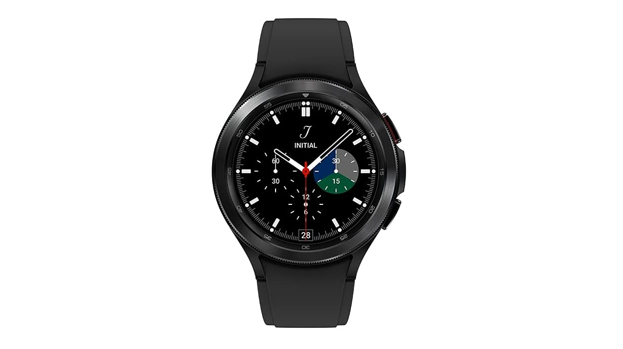 An image of the Galaxy Watch 4 Classic in black