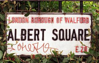 EastEnders sign - legend of show joining Holby City