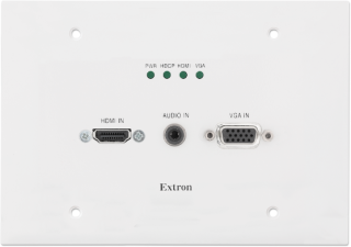 Extron Wallplate Transmitter for Digital and Analog