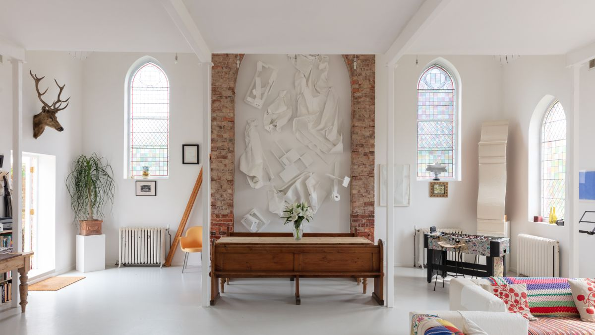 The period conversion style lessons we'll take from this spectacular former chapel in Lincolnshire