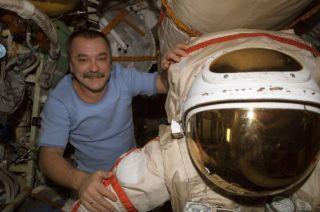 ISS Astronauts to Free Jammed Spacecraft Antenna in Spacewalk