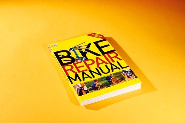 Bicycle Repair Manual, bicycle maintenance books