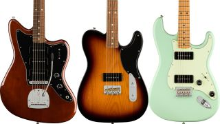 Fender has unveiled its new Noventa line of guitars
