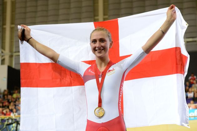 Laura Trott, Commonwealth Games 2014 Glasgow, track cycling day four