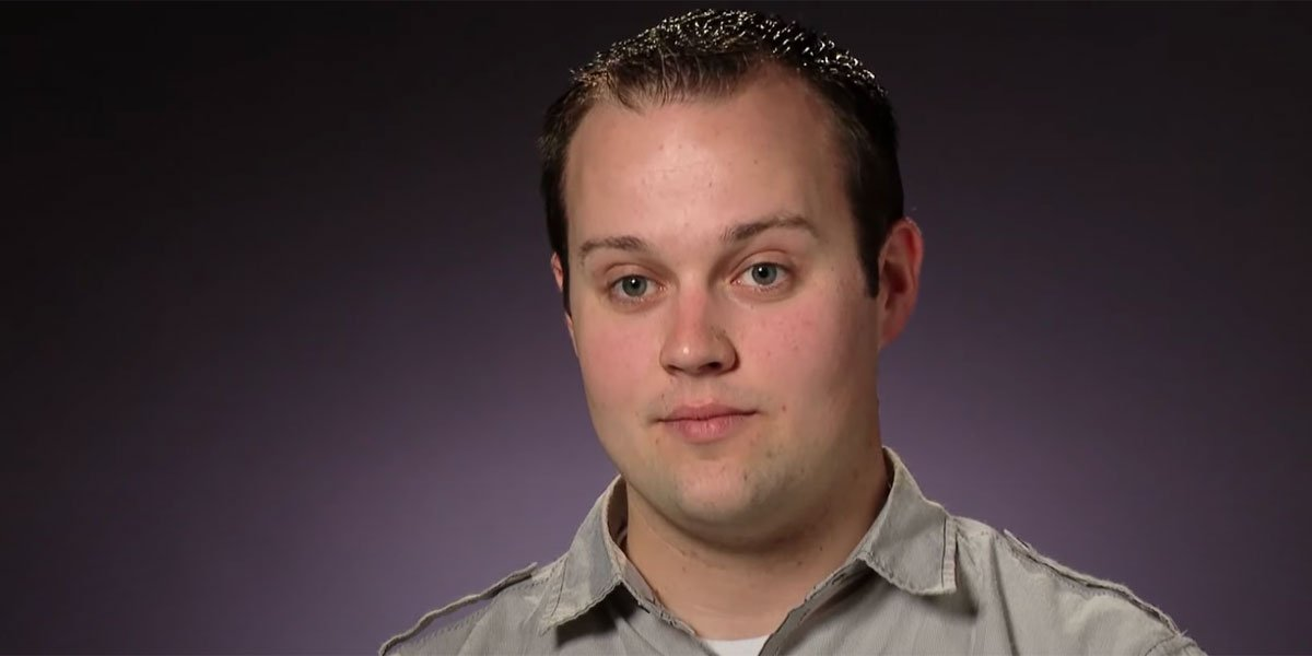 Screenshot of Josh Duggar from his 19 Kids and Counting days on TLC