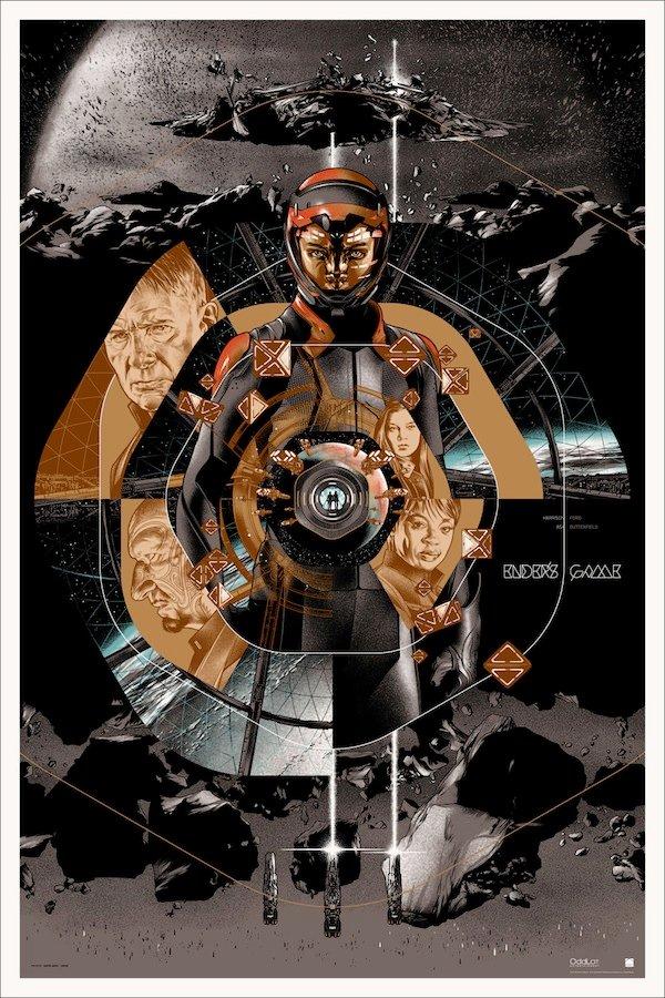 Ender's Game Mondo Poster Variant