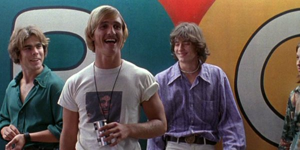Dazed and Confused Matthew McConaughey high school girls scene