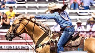 Hailey Kinsel Cowboy Channel Cheyenne Frontier Days