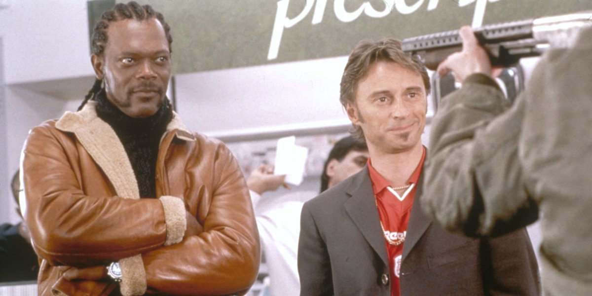Samule L. Jackson and Robert Carlyle in The 51st State