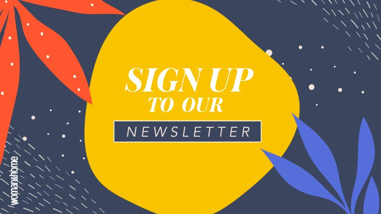 Sign up to woman and home newsletter