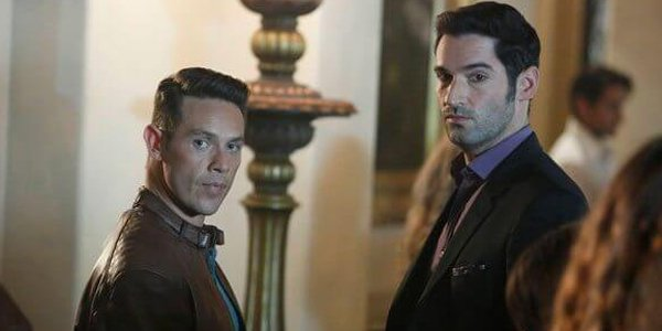 Lucifer and Dan not getting along on Netflix