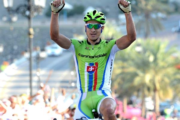 Peter Sagan wins, Tour of Oman 2013, stage two