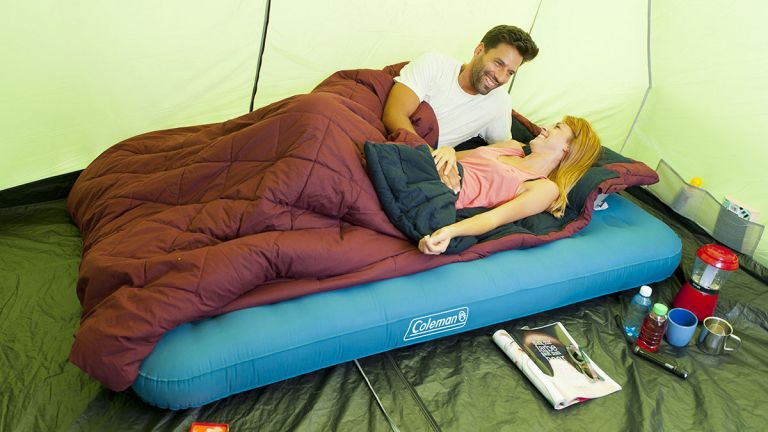best camping bed: Coleman Extra Durable Airbed Double