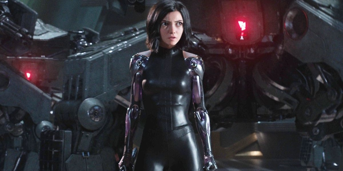 Alita: Battle Angel Alita ready to face off against security bots