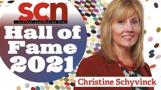 Christine Schyvinck SCN Hall of Fame 2021