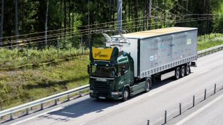 Scania electric truck