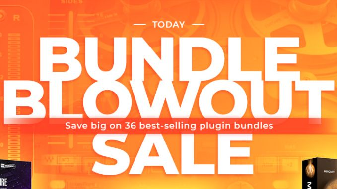 Save up to 93% on Waves plugin bundles – prices dropped by as much as $3,700