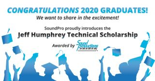 Sound Productions 2020 Scholarship