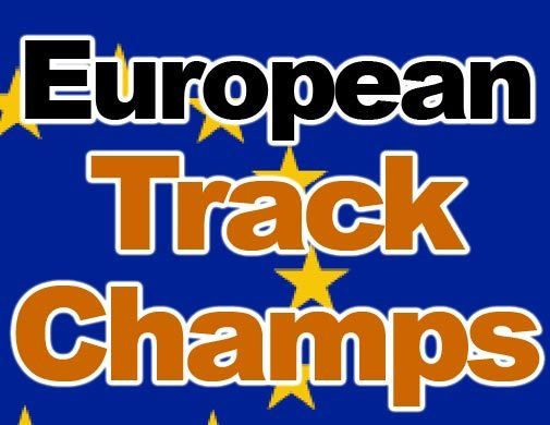 European Track Champs 2008 logo