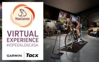 Garmin have created a virtual of edition of Milan-San Remo