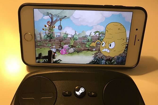 The Steam Link app doesn't quite make the physical Steam