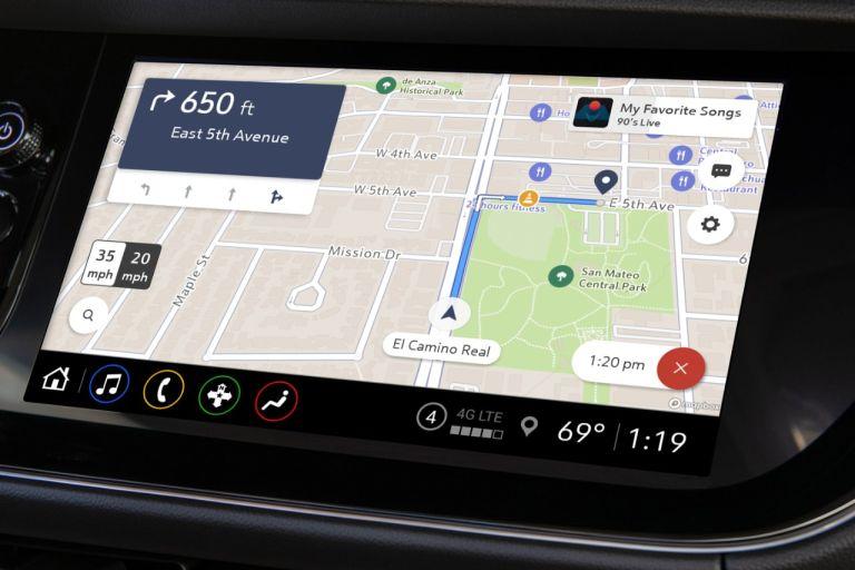 General Motors Maps+ app