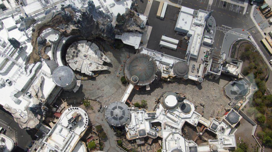 Stuck at home? Take a tour through Disney's (empty) Star Wars, Pandora and space-age parks