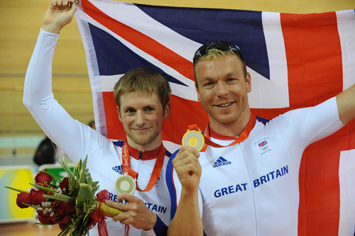 Chris Hoy Jason Kenny Gold silver Olympics 2008