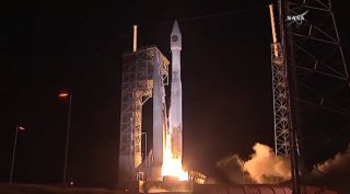 Atlas 5 with Cygnus cargo