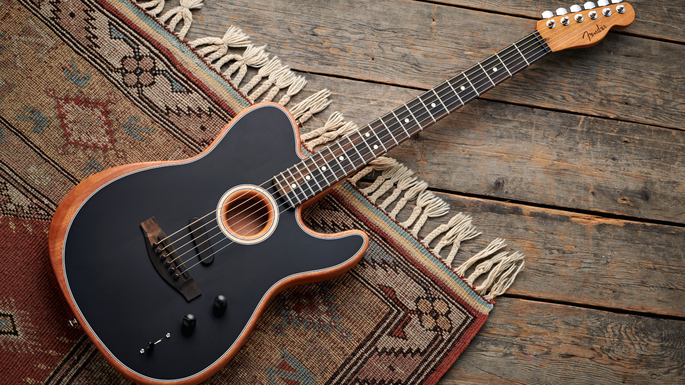The story behind Fender's American Acoustasonic Telecaster | MusicRadar