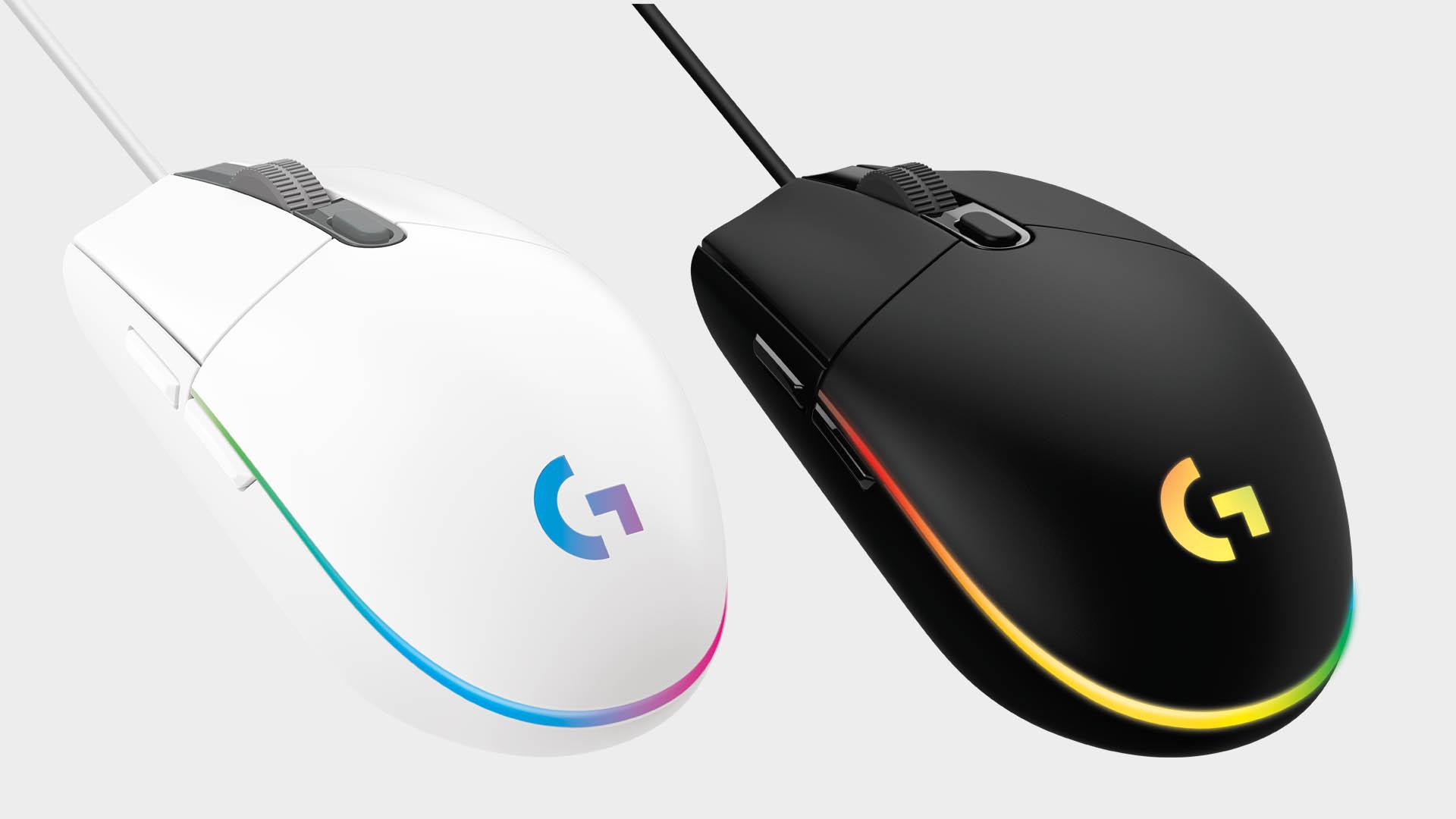 Logitech G203 Lightsync gaming mouse