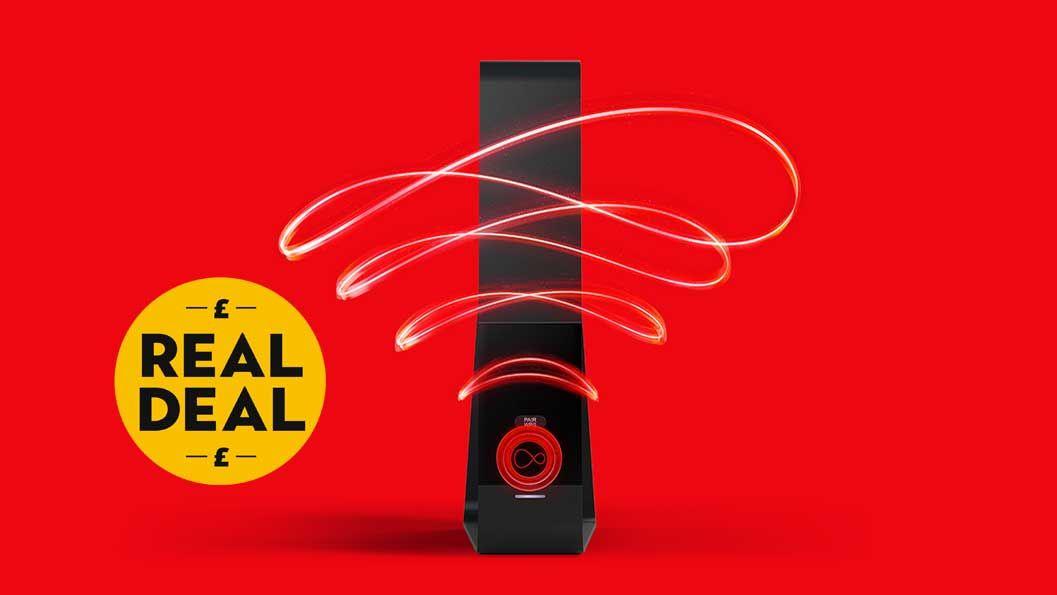 Virgin Media's Bigger Bundle is now only £45 instead of £57