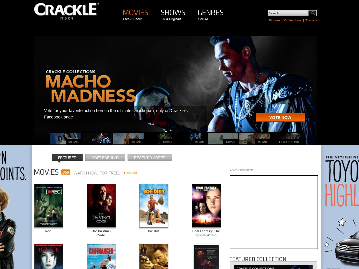 Sony Crackle Streaming Free Content to PS3, Etc  | Tom's Guide