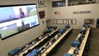 tvONE ONErack universal powered mounting system at the United Launch Alliance
