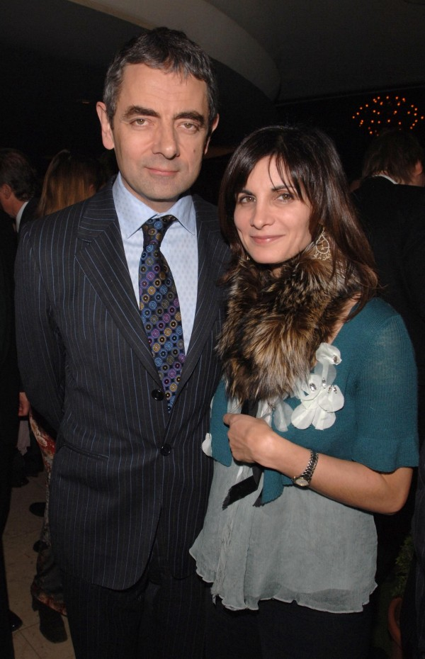 Rowan Atkinson and his ex wife