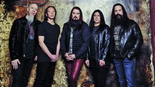 A promotional picture of Dream Theater