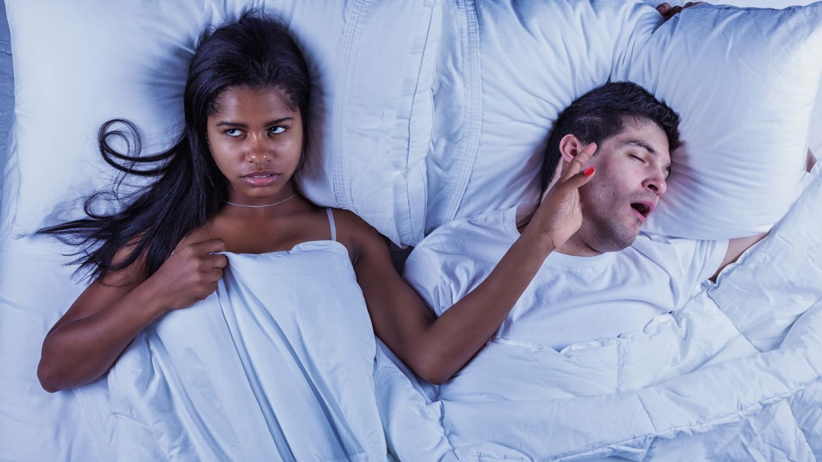 Here's the expert advice on how to stop snoring properly